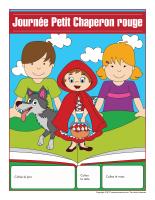 Calendrier perpétuel-Journée-Petit Chaperon rouge