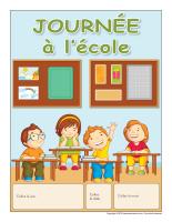Calendrier perpétuel-Journée à l'école-2014