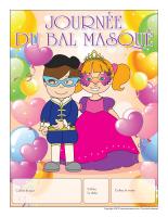 Calendrier perpétuel-Journée bal masqué