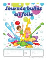 Calendrier perpétuel-Journée bulles en folie