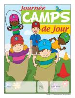 Calendrier perpétuel-Journée camps de jour
