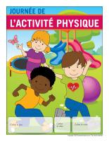 Calendrier perpétuel-Journée de l'activitéphysique