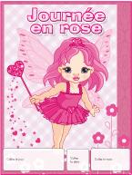Calendrier perpétuel-Journée en rose