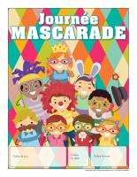 Calendrier perpétuel-Journée mascarade