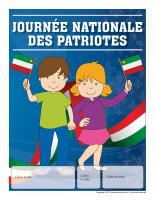 Calendrier perpétuel-Journée nationale des patriotes
