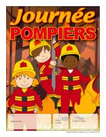 Calendrier perpétuel-Journée pompiers