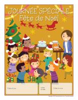 Calendrier perpétuel-Journée spéciale-Fête de Noël