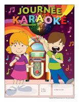 Calendrier perpétuel-Journée spéciale-Karaoké