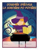 Calendrier perpétuel-Journée spéciale-La sorcière Po Potière