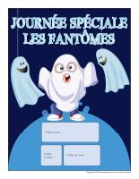 Calendrier perpétuel-Journée spéciale-Les fantômes