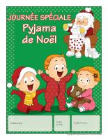 Calendrier perpétuel-Journée spéciale-Pyjama de Noël