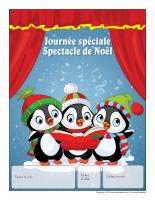 Calendrier perpétuel-Journée spéciale-Spectacle de Noël