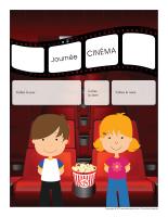 Calendrier perpétuel-Journée thématique-Au cinéma
