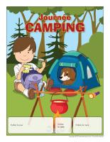 Calendrier perpétuel-Journée thématique-Camping