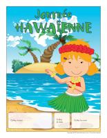Calendrier perpétuel-Journée thématique-Hawaïenne