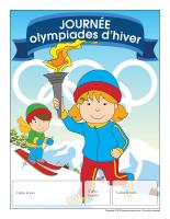Calendrier perpétuel-Les olympiades d'hiver