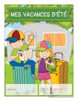 Calendrier perpétuel-Mes vacances d'été