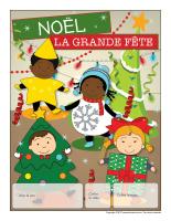 Calendrier perpétuel-Noël-La grande fête