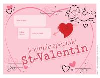 Calendrier perpétuel-Saint-Valentin
