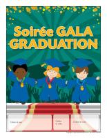 Calendrier perpétuel-Soirée gala graduation