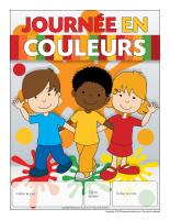 Calendrier perpétuel-journée en couleurs
