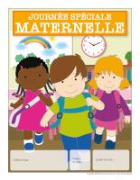 Calendrier perpétuel-journée spéciale maternelle