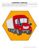 Camions à enfiler