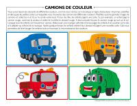 Camions de couleur