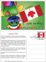 Carte de Noël au Canada