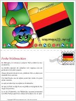 Carte de Noël en Allemagne