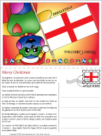 Carte de Noël en Angleterre
