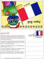 Carte de Noël en France