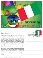 Carte de Noël en Italie