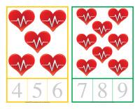 Cartes à compter-Activité physique-1