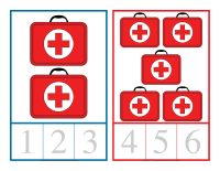 Cartes à compter-Ambulanciers-Ambulancières-2