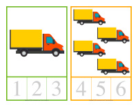 Cartes à compter-Camions-1