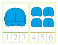 Cartes à compter-Chapeaux-1