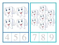 Cartes à compter-Dentiste-2