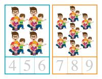 Cartes à compter-Famille-2