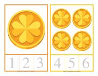 Cartes à compter-La Saint-Patrick-1