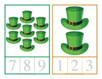 Cartes à compter-La Saint-Patrick-3