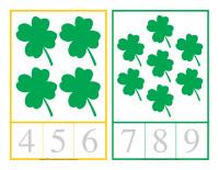 Cartes à compter-La Saint-Patrick-4