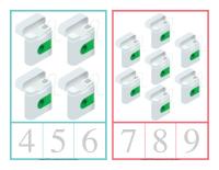 Cartes à compter-La santé dentaire-2