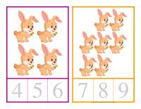 Cartes à compter-Lapins-2