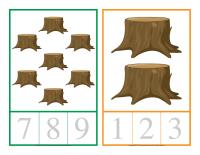 Cartes à compter-Les arbres-2