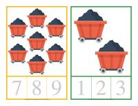 Cartes à compter-Les mines-1