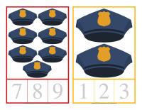 Cartes à compter-Policiers-Policières-1