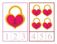 Cartes à compter-Saint-Valentin-1
