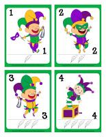 Cartes à jouer-Bouffons-Mardi gras-1