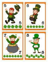 Cartes à jouer-Les farfadets de la Saint-Patrick-2